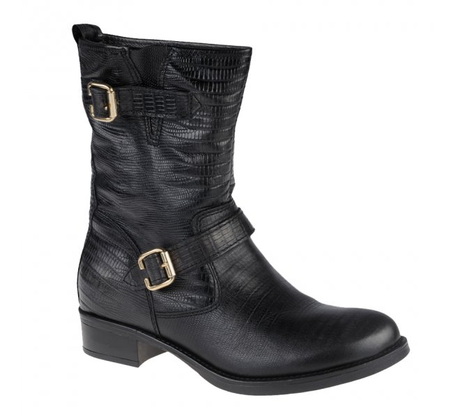 Boots fille - YKX - Noir