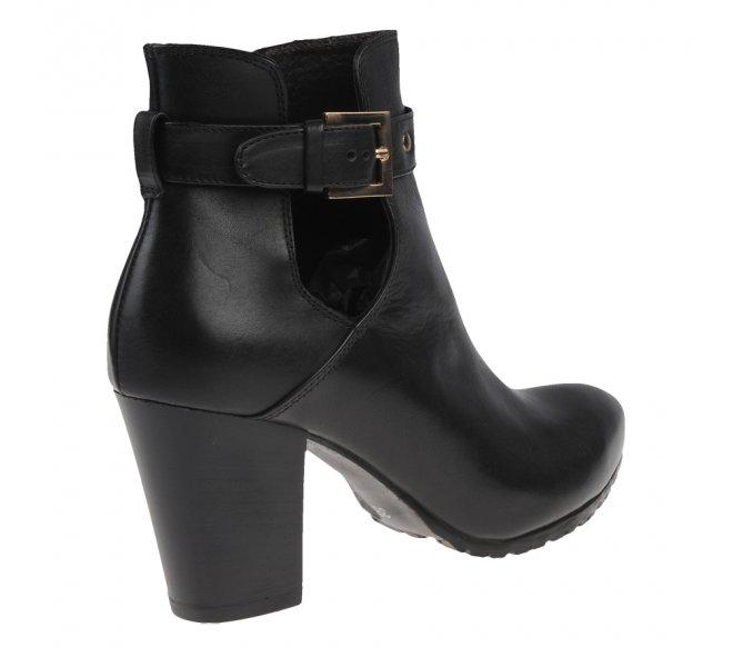 Boots fille - STYME - Noir