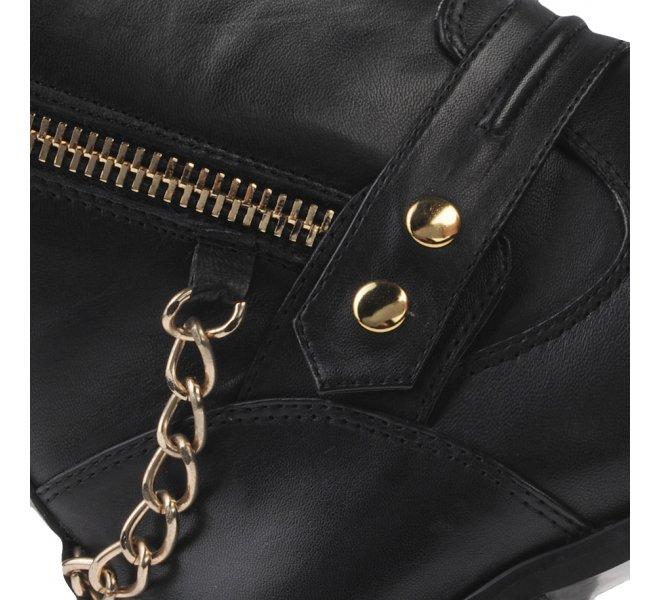Boots fille - DI LAURO - Noir