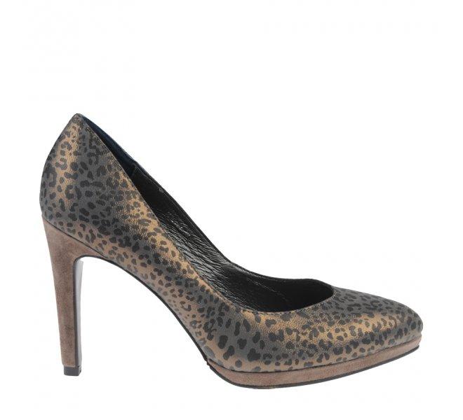 Escarpins fille - DI LAURO - Leopard