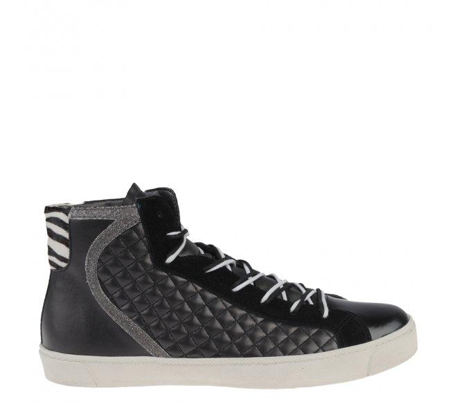 Baskets mode fille - CARMA - Noir
