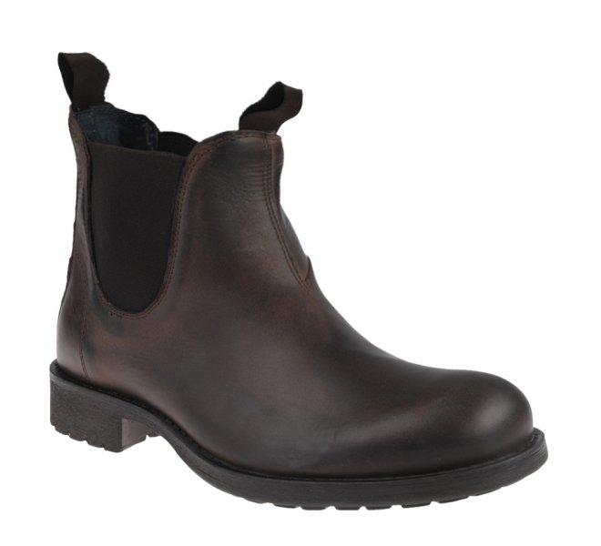 Boots garçon - FIRST COLLECTIVE - Marron