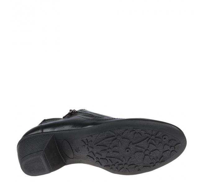 Chaussures de confort fille - OMBELLE - Noir