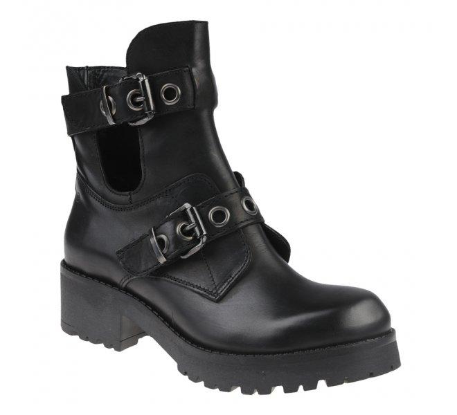 Boots fille - KHRIO - Noir