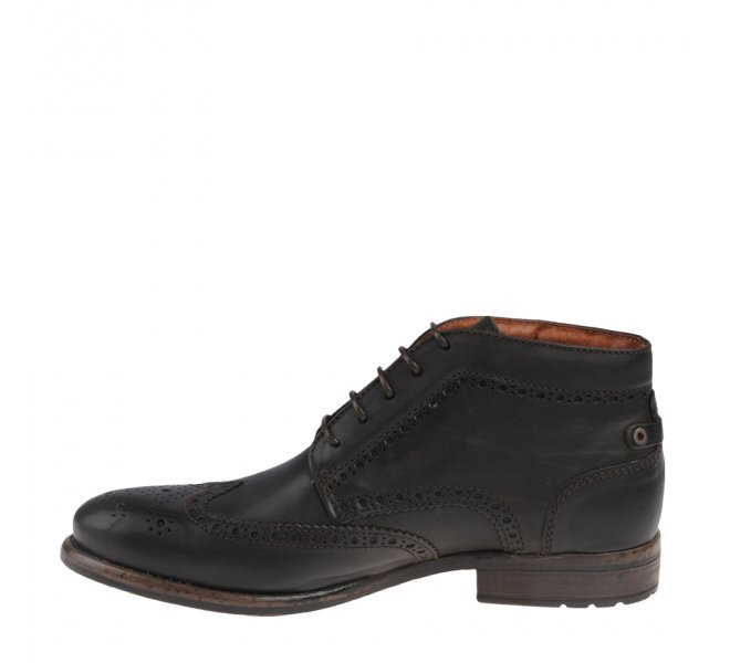 Bottines garçon - GOLDMUD - Marron