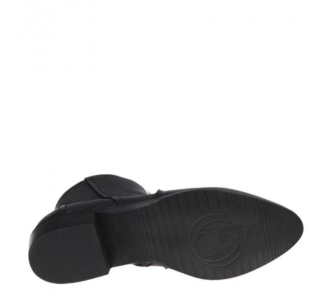 Boots fille - DONNA - Noir