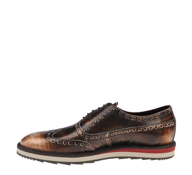 Chaussures à lacets garçon - CHIBS - Marron