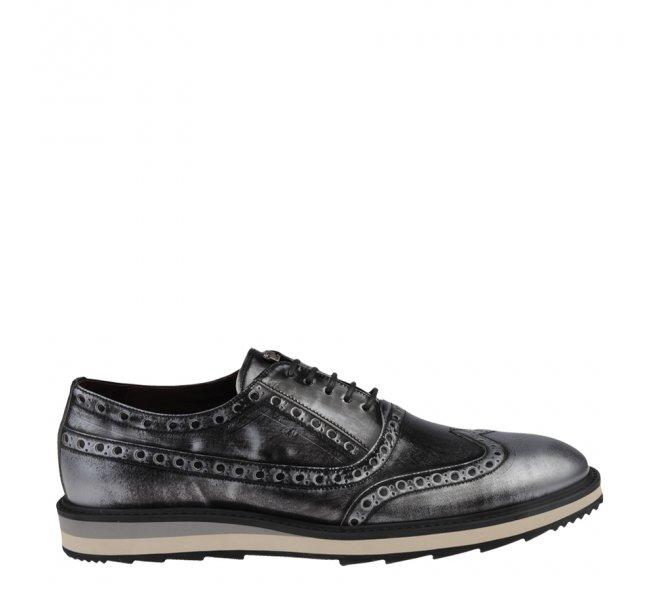 Chaussures à lacets garçon - CHIBS - Gris
