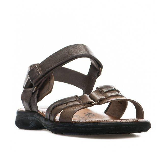 Nu-pieds garçon - MJUS - Taupe