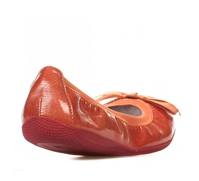 Ballerines fille - LES PETITES BOMBES - Orange