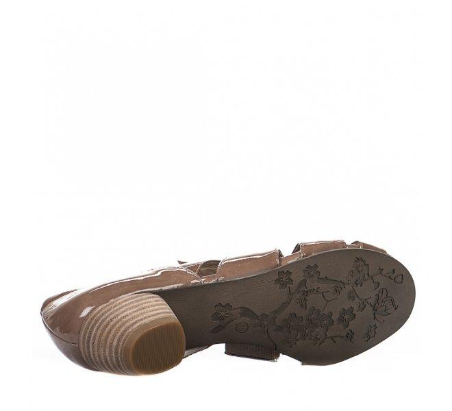 Chaussures de confort fille - REGARDE LE CIEL - Taupe