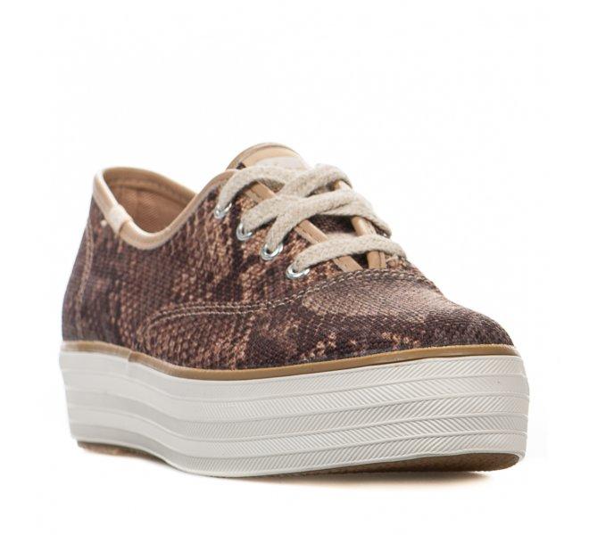 Baskets fille - KEDS - Leopard