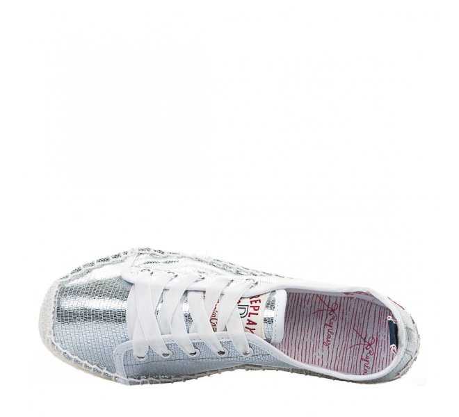 Espadrilles fille - REPLAY - Gris argent