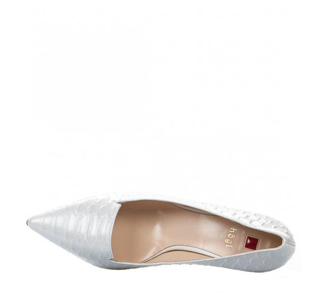 Escarpins fille - HOGL - Blanc casse