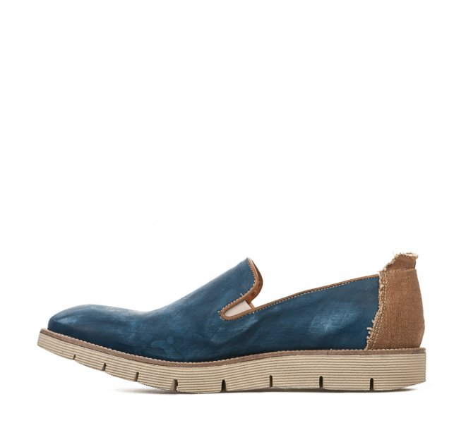 Slip On garçon - FIRST COLLECTIVE - Bleu