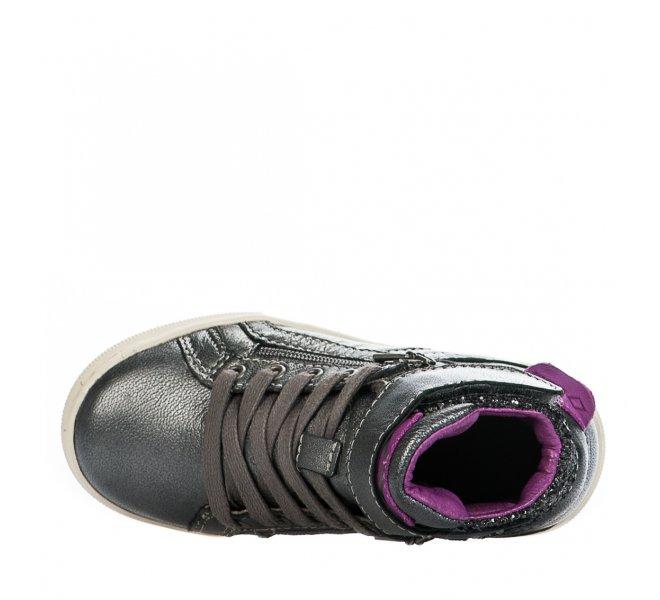 Baskets fille - PLDM - Gris argent