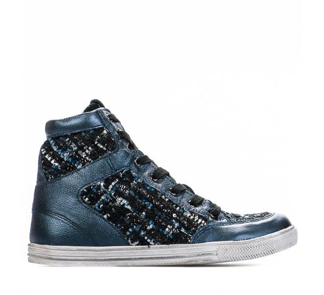 Baskets fille - BQZ - Bleu marine