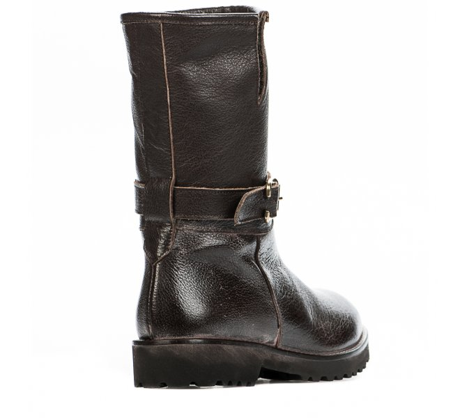 Boots fille - HIP - Marron