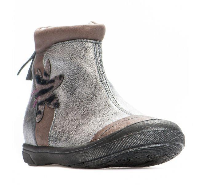 Boots fille - GBB - Gris argent
