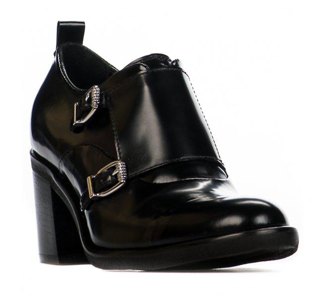 Chaussures à lacets fille - MIGLIO - Noir