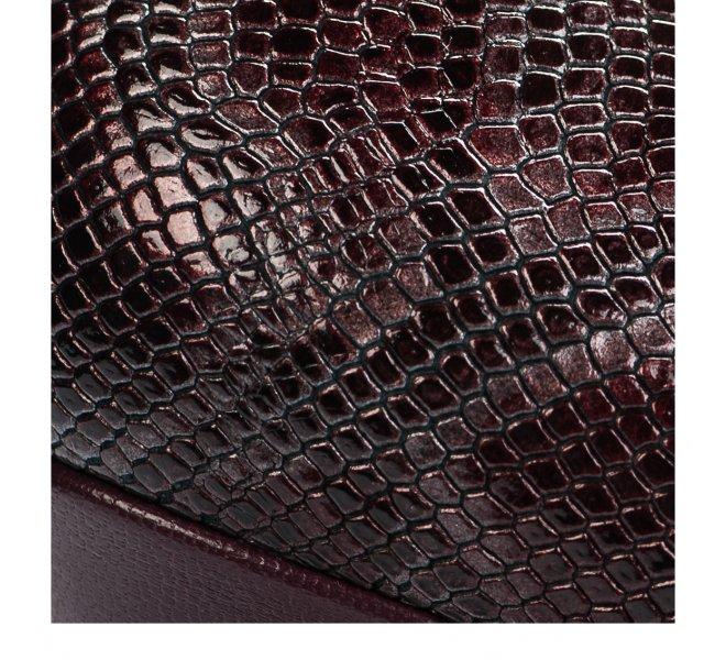 Escarpins fille - AMARU - Rouge bordeaux