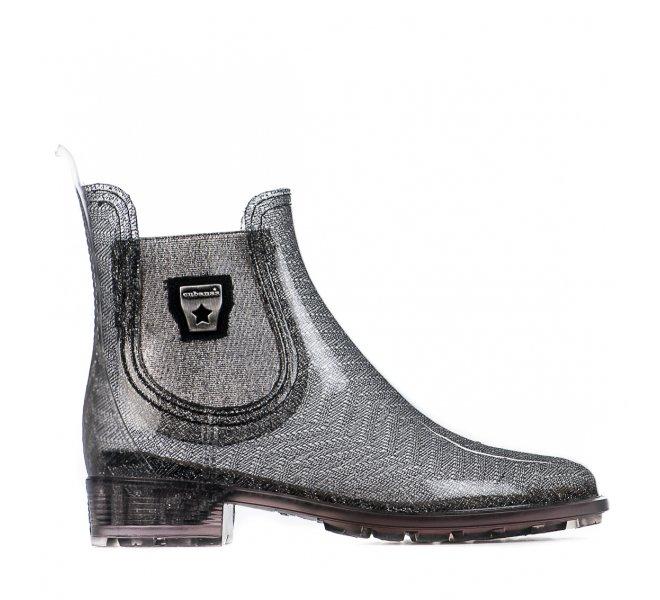 Boots fille - CUBANAS - Gris argent