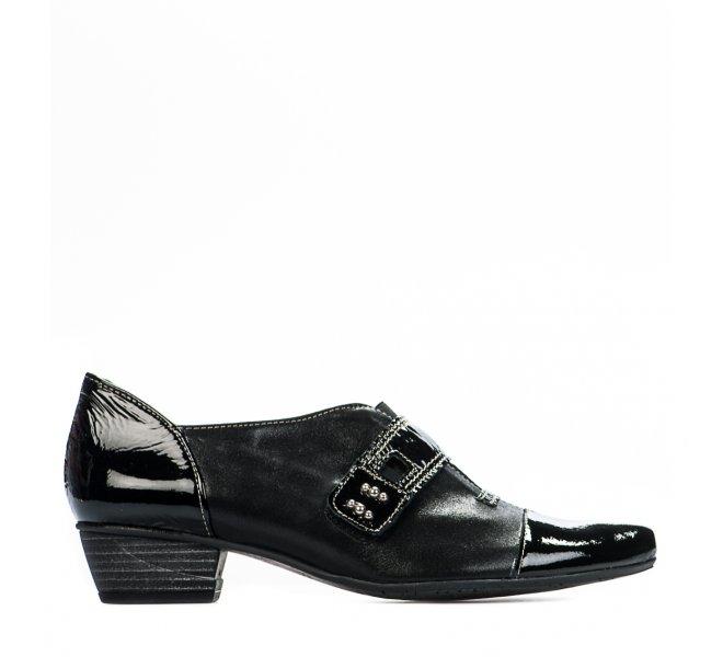 Chaussures de confort fille - UN TOUR EN VILLE - Noir