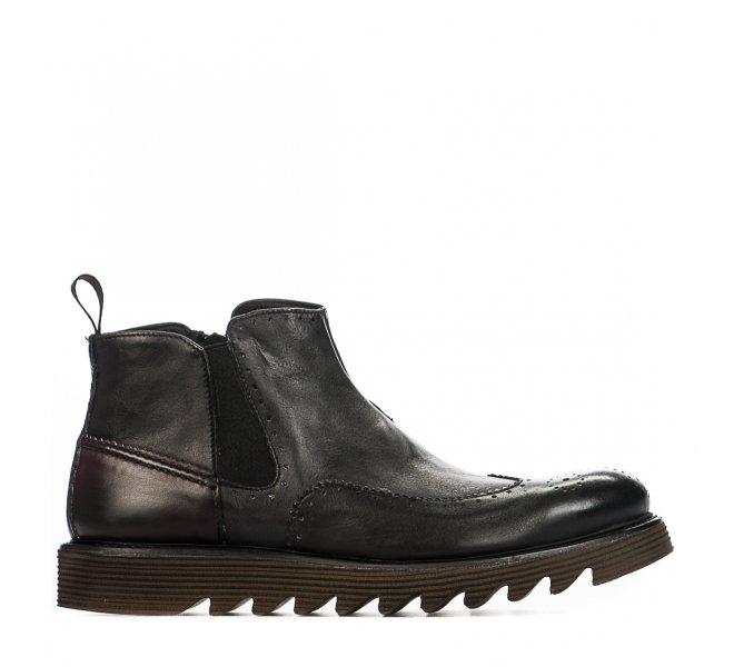 Boots garçon - FIRST COLLECTIVE - Noir