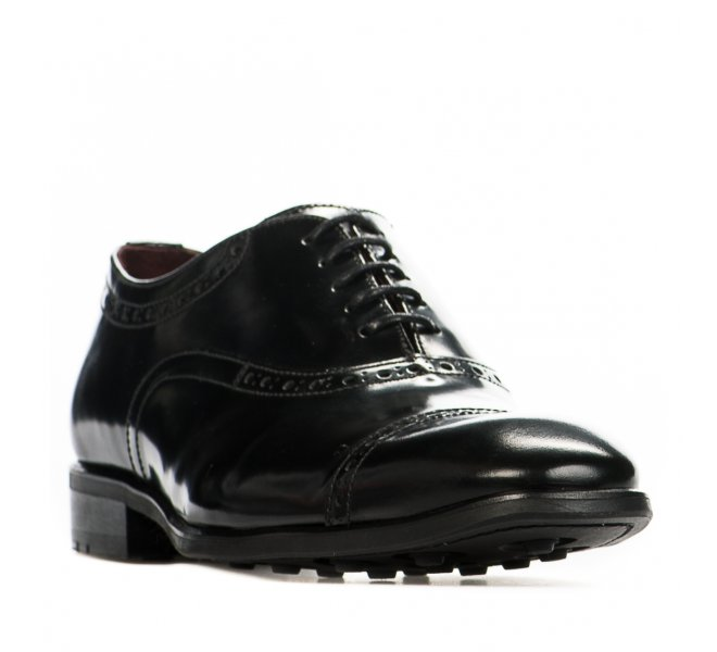 Chaussures à lacets garçon - CHIBS - Noir