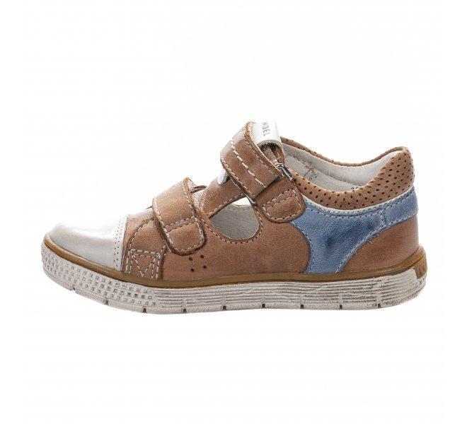 Chaussures à lacets garçon - NOEL - Marron clair