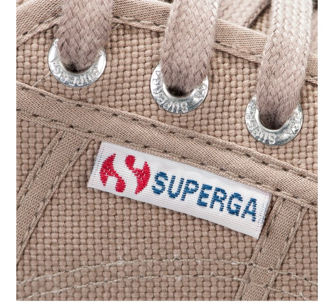 Baskets mixte - SUPERGA - Beige fonce