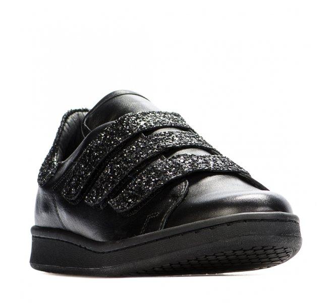 Baskets fille - TANGO - Noir