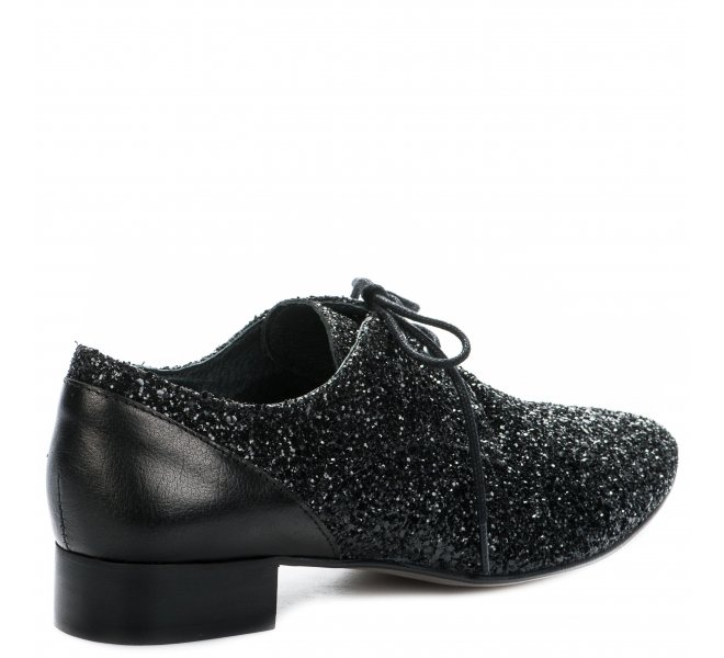 Chaussures à lacets fille - AMBIANCE - Noir