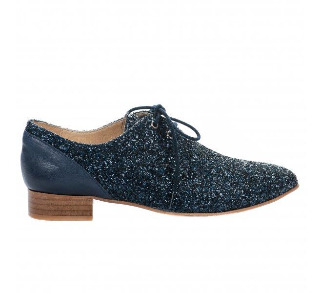 Chaussures à lacets fille - AMBIANCE - Bleu