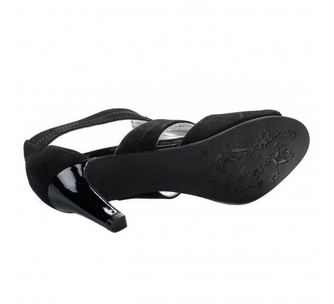 Nu pieds fille - REGARDE LE CIEL - Noir
