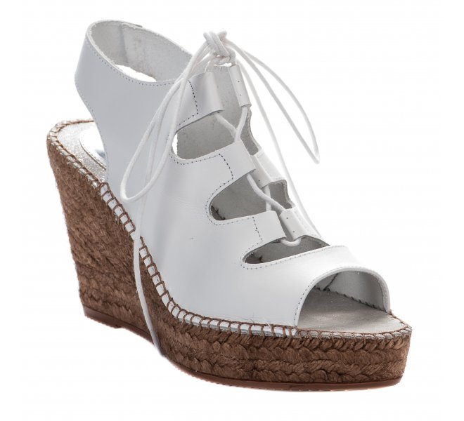 Espadrilles fille - AEDO - Blanc