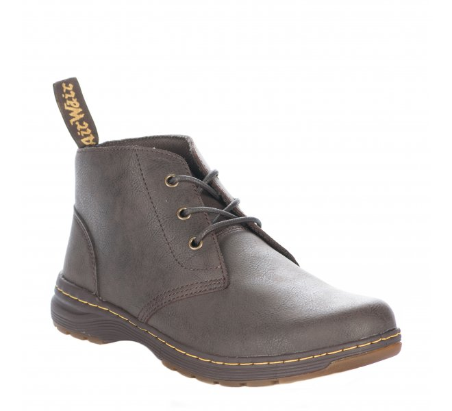 Bottines garçon - DR MARTENS - Marron