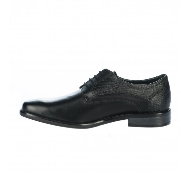 Chaussures à lacets garçon - CYPRES - Noir