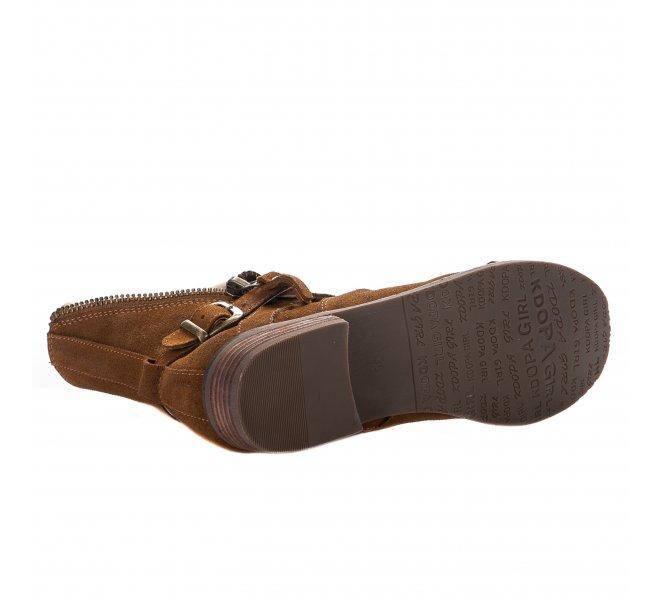 Boots fille - KDOPA - Naturel
