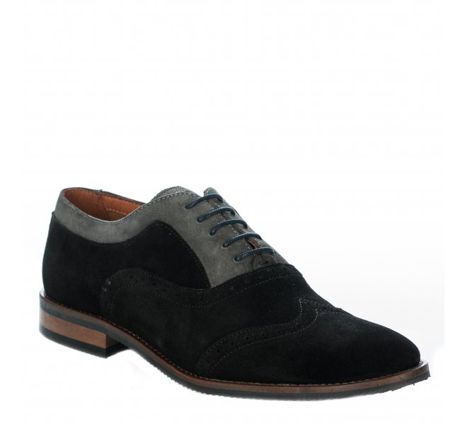 Chaussures à lacets garçon - SCHMOOVE - Noir