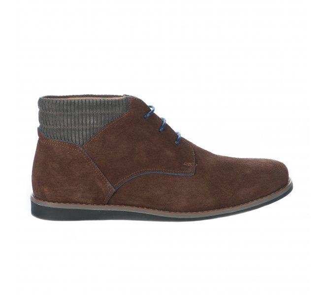Chaussures à lacets garçon - SCHMOOVE - Marron