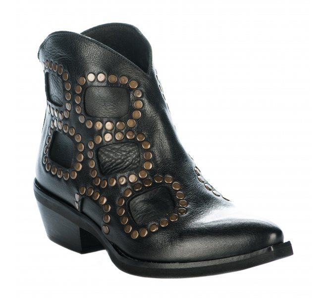 Boots fille - METISSE - Noir