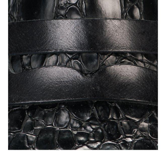 Mocassins fille - DONNA PIU - Noir