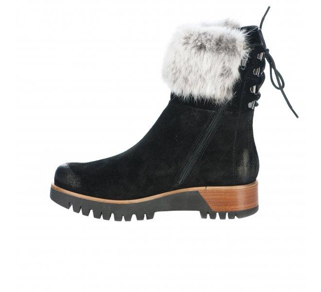 Boots fille - MANAS - Noir