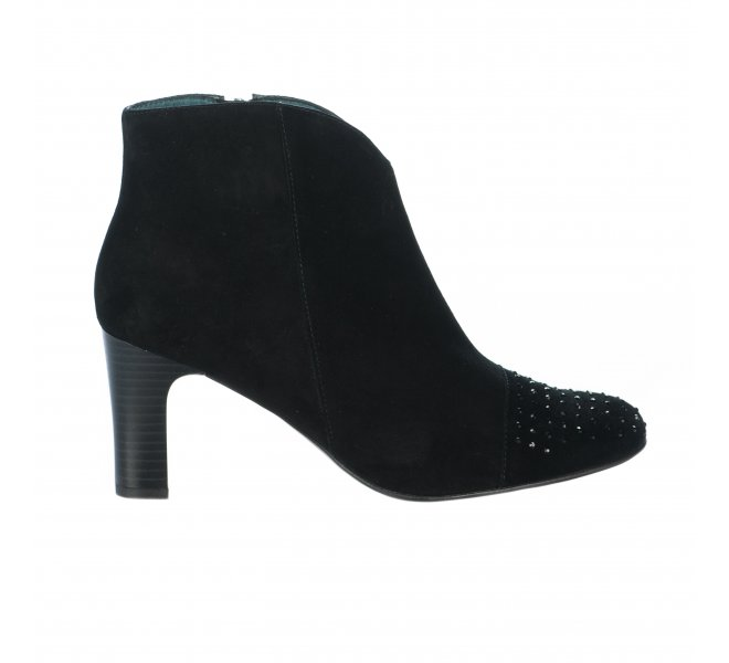 Boots fille - KARSTON - Noir