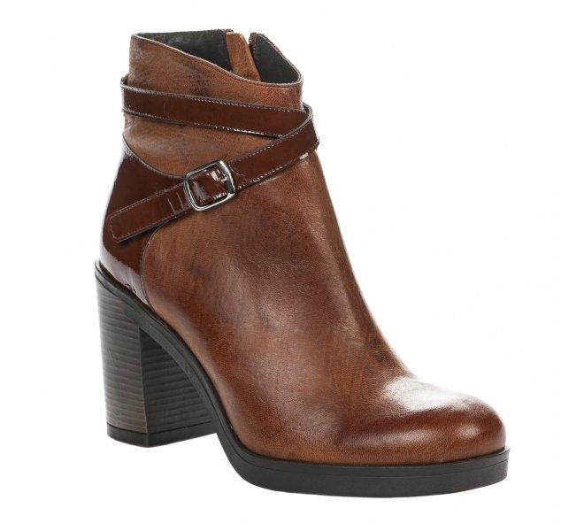 Boots fille - MIGLIO - Marron clair