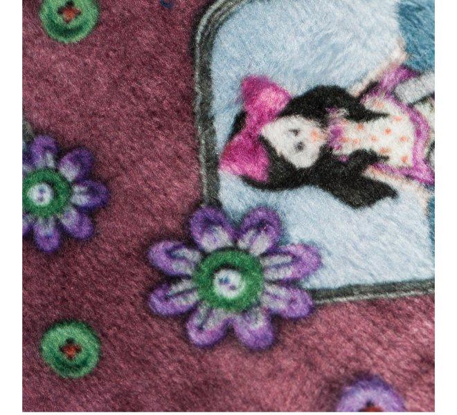 Pantoufles fille - BELLAMY - Rose vieilli