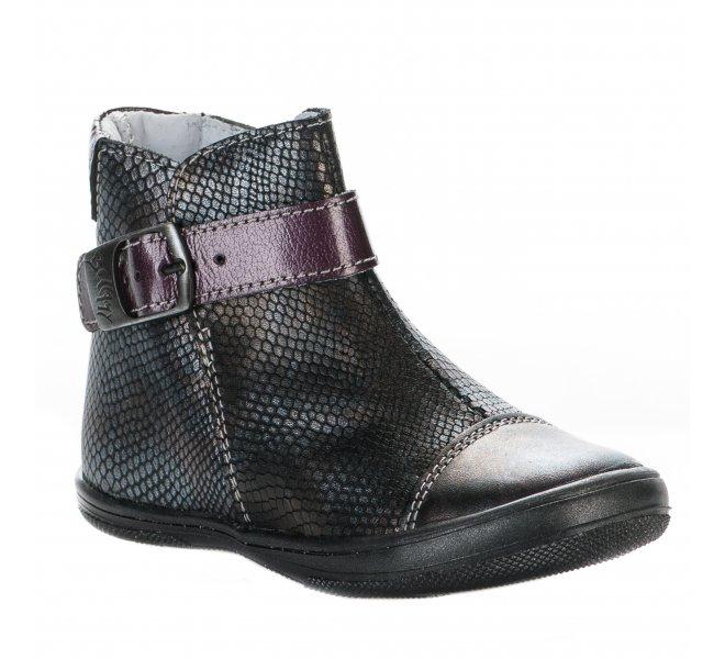 Boots fille - BELLAMY - Gris