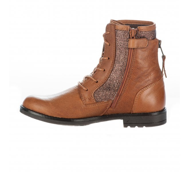 Bottines fille - B&CO - Naturel