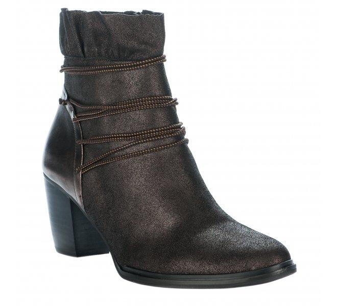 Boots fille - MAM'ZELLE - Marron